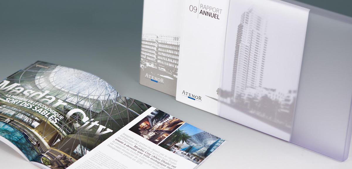Atenor - Corporate magazine