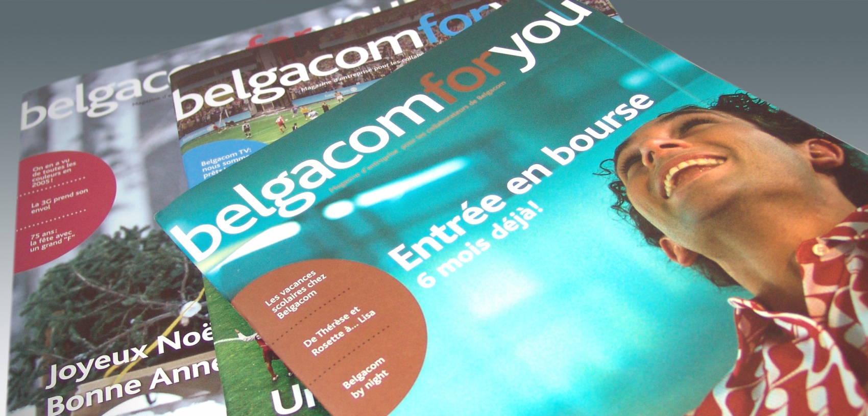 Belgacom - Internal Newsletter