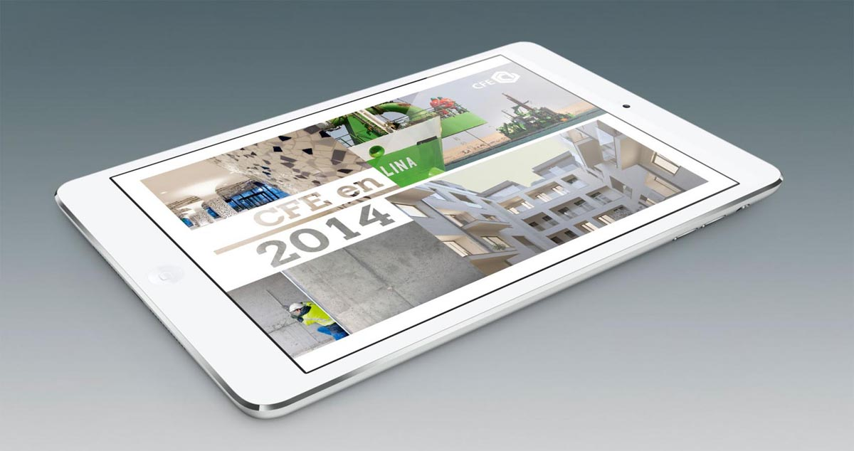 CFE Annual Report 2014 on iPad