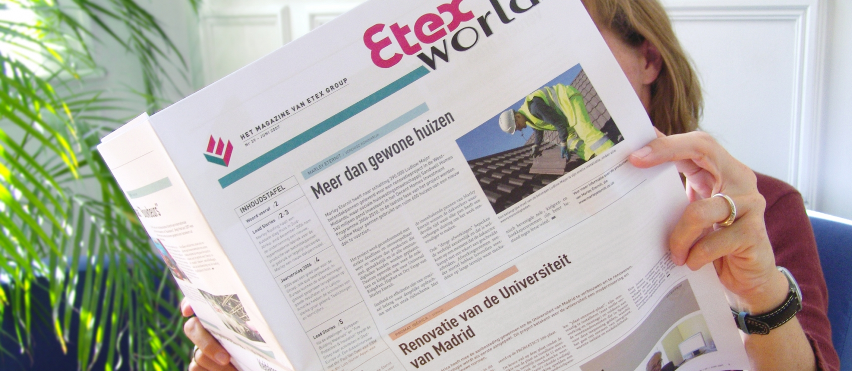 Etex - Internal Newsletter