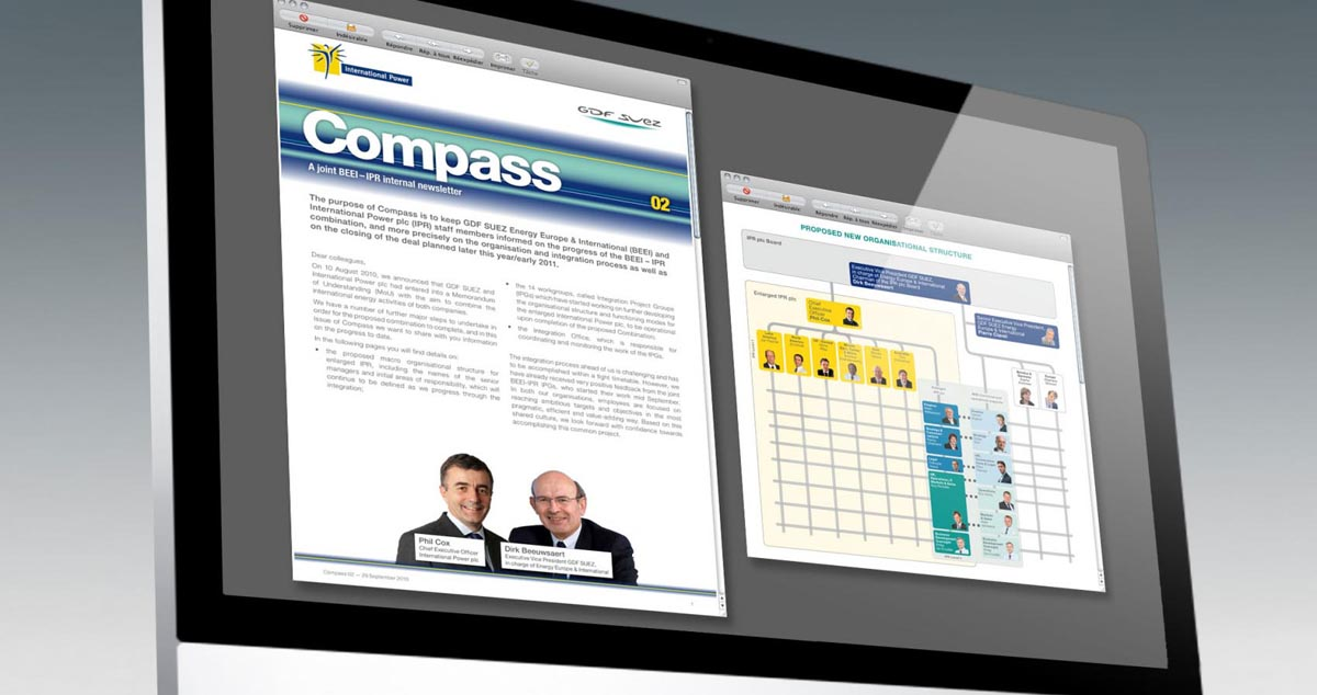 GDF SUEZ - Compass Internal newsletter