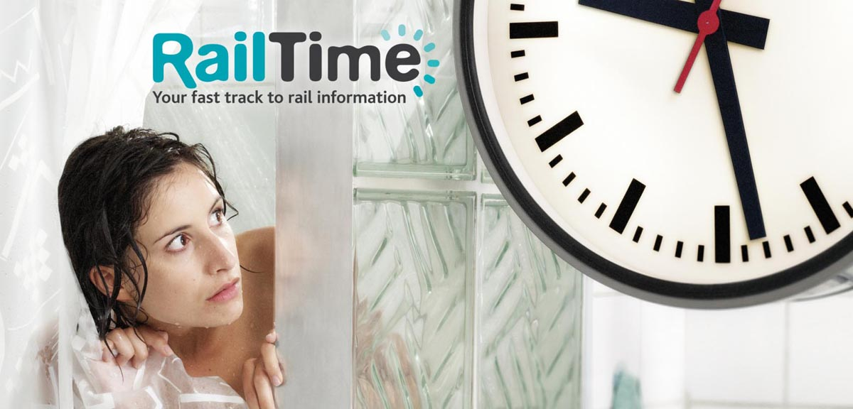Infrabel - Railtime campaign