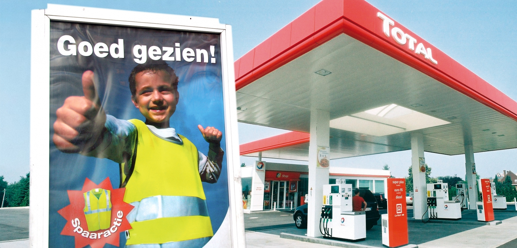 Total - Outdoor campaign