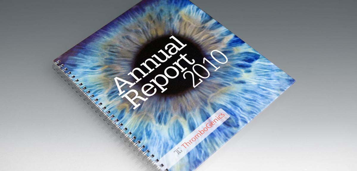 Thrombogenics - Annual Report 2010
