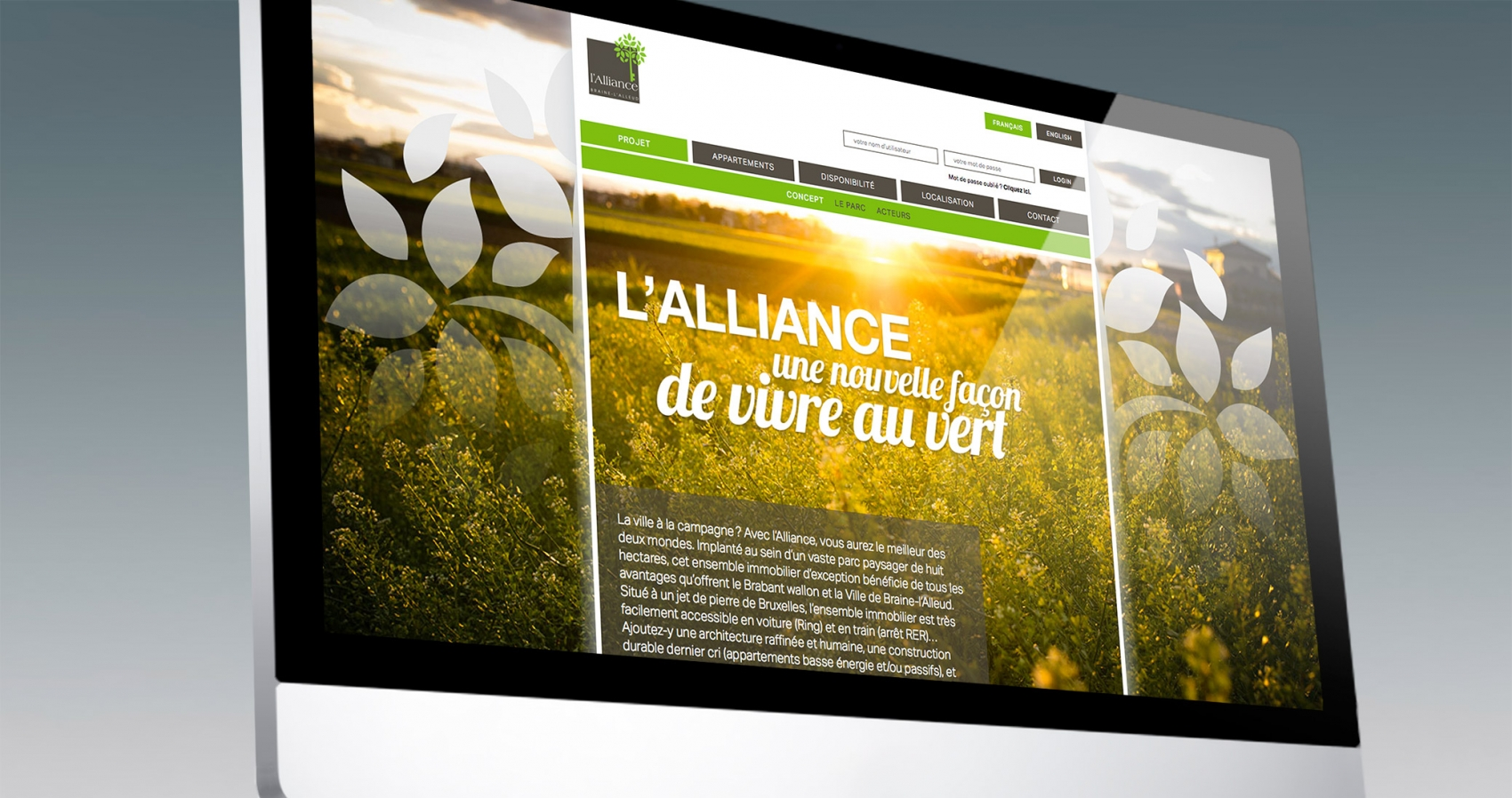 AGRE l'Alliance website