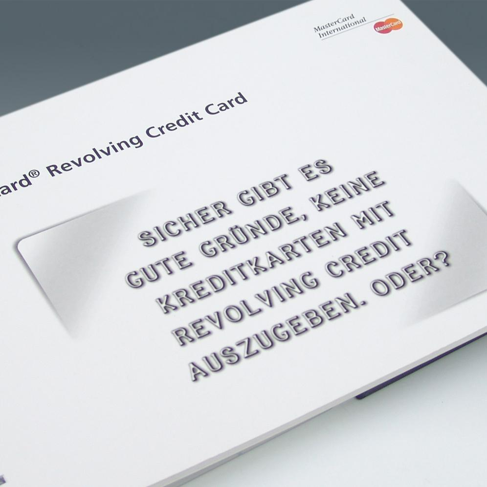 MasterCard - Promotional brochure