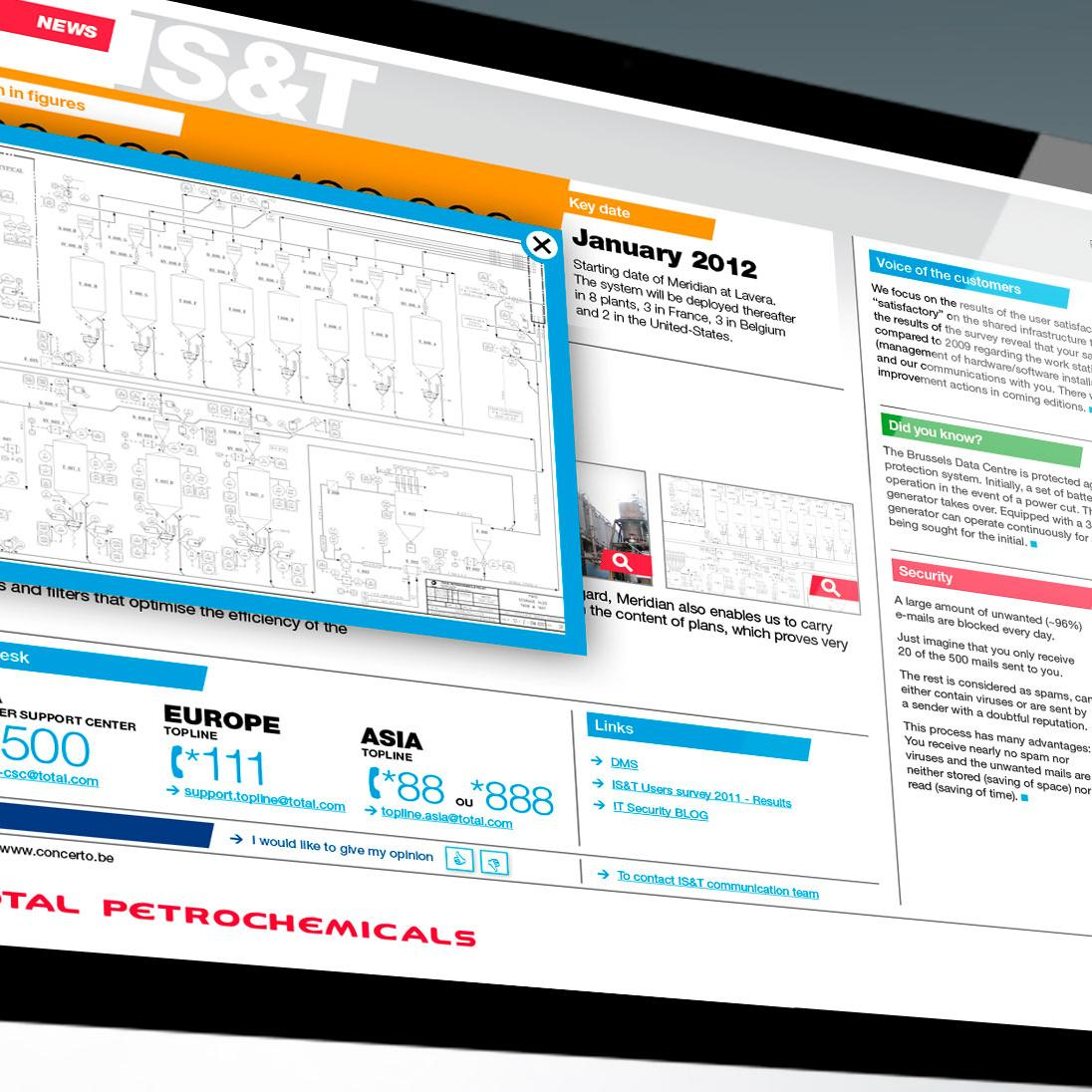 TOTAL Petrochemicals Enewsletter